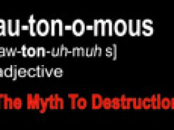 Autonomous The Myth to Destruction